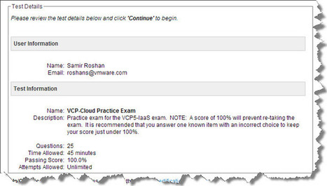 VCP-Cloud (VCP-Iaas) Exam Experience and Study Tips | From VCP5 to VCP-Cloud | Scoop.it