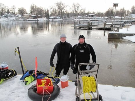 Scuba Obsessed Episode 99 – It counts as an ice dive and he measures everything. – Scuba Obsessed   Coldwater Scuba Diving   Scoop.it