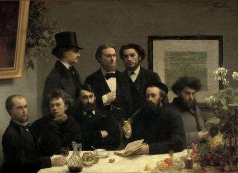 """#192 ❘ Verlaine et Rimbaud sur un """"Coin de table"""" (1872) et fait divers (1873)   # HISTOIRE DES ARTS - UN JOUR, UNE OEUVRE - 2013   Scoop.it"""