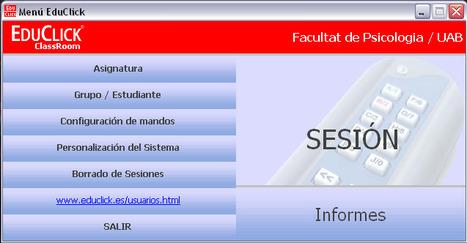 Instrucciones para una evaluación formativa con EduClick (ESID, UAB) | Herramientas y Recursos Docentes | Scoop.it