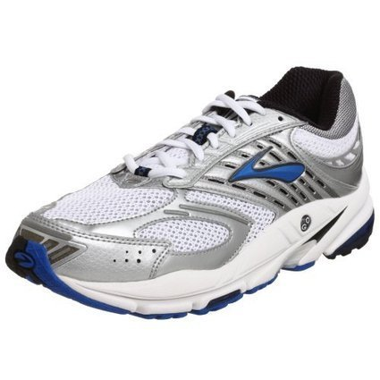 san francisco 4e013 92367 Brooks Mens Beast Running Shoe, PearlSilverCrestBlackWhite, 9 D