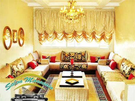 Décoration Salon Marocain Moderne 2015: ...