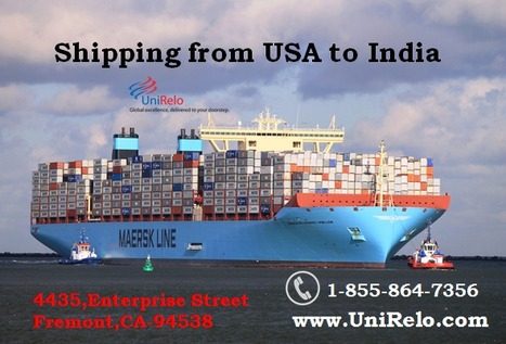 Ship to India from USA   Shipping To India From
