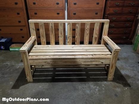 Diy 2x4 Outdoor Bench Myoutdoorplans Free W