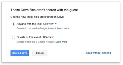 Google Drive Sharing Controls Just Got Even Better | The Gooru | Mr. Frerichs's EdTech | Scoop.it