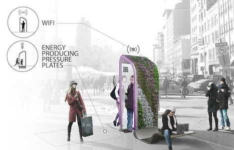 Reinventing the Payphone: Designs for NYC's Future Public Smartphones... | green streets | Scoop.it