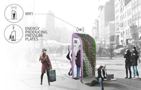 Design : à New York on réinvente les cabines téléphoniques  ! | D'Dline 2020, vecteur du bâtiment durable | Scoop.it