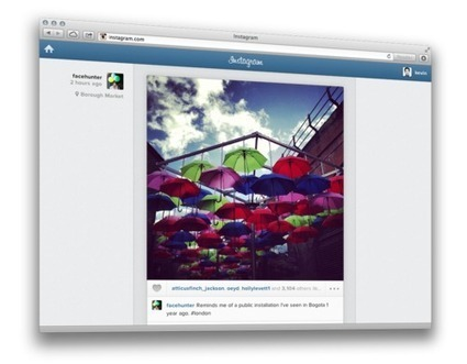 Introducing Your Instagram Feed on the Web | Magazine Publishing | Scoop.it