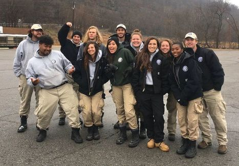 AmeriCorps NCCC team helps revitalize Sequoyah State Park | CALS in the News | Scoop.it