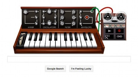 Google Doodle, a Music Synthesizer, Pays Tribute to Robert Moog - ABC News (blog)   Music Production Vault   Scoop.it
