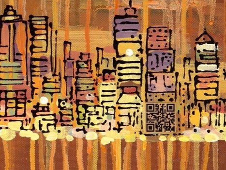 QR Codes Embedded in Paintings [Cool!] | Transmedia: Storytelling for the Digital Age | Scoop.it