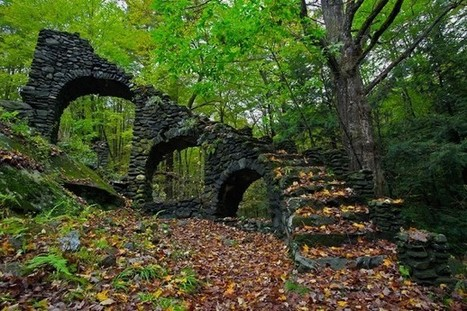 Madame Sherris Castle ruins in New Hampshire | Modern Ruins | Scoop.it