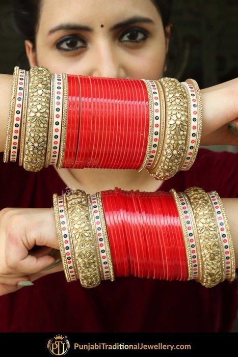 Indian Bridal Chura Buy Online – | Punjab