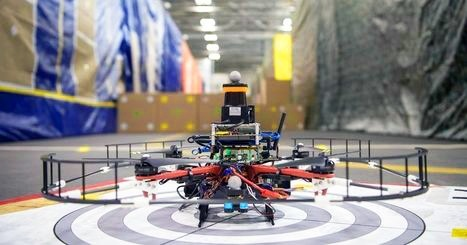 Drone Races 45 MPH Indoors in this SICK Video #toocool | Contests and Games Revolution | Scoop.it
