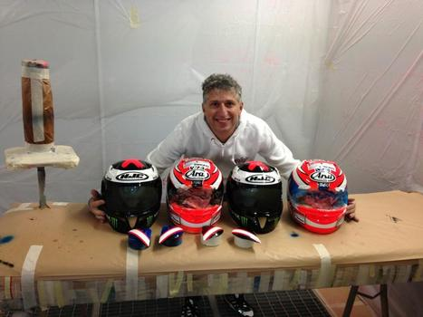 Reveal! Nicky Hayden and Jorge Lorenzo 2013 Helmet Designs   Desmopro News   Scoop.it