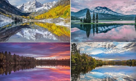 Reflected glory: Spectacular mirror images of American and Canadian ... - Daily Mail | Inspirational Photography to DHP | Scoop.it