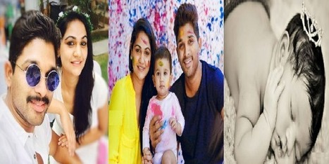 Allu Arjun Sneha Reddy Daughter Name Allu Arha