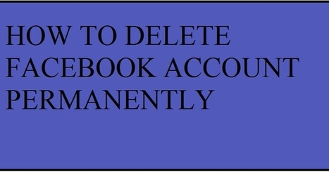 Delete in tech99tricks is a website provides technology news up how to delete facebook account permanently ccuart Images