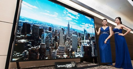 Samsung to Launch 110-Inch Ultra HD TV Monday | Ask Marty Tech Stuff | Scoop.it