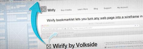 Transformez tous les sites internet en wireframes avec Wirify ! | Graphisme & interactivité - Geoffrey Dorne | La communication digitale, Modedemploi | Scoop.it