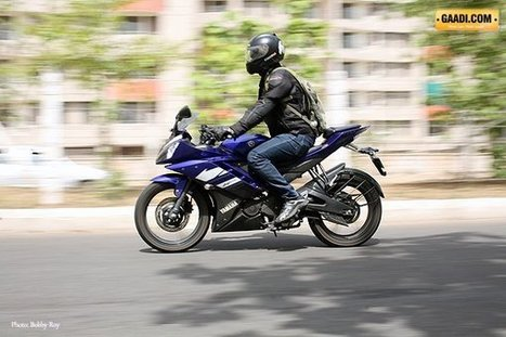 We test the Yamaha R15 version 2.0: meaner, leaner and faster - Gaadi.com | motorcycles | Scoop.it