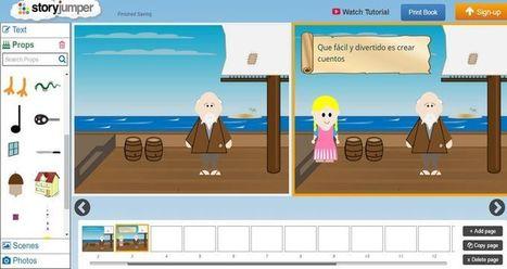 StoryJumper: crea cuentos o libros infantiles en pocos pasos | Educación 2017 | Scoop.it