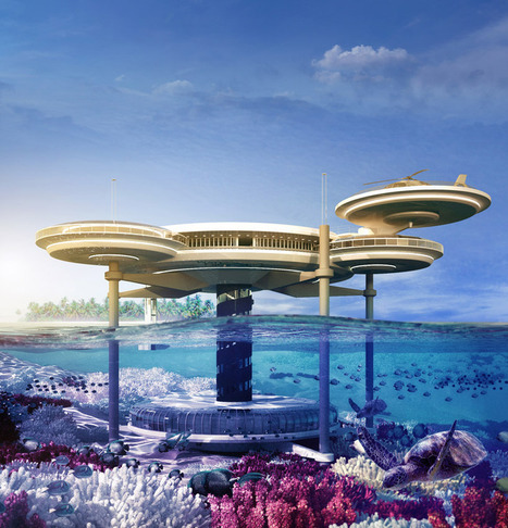 Extraordinary Underwater Hotel - Water Discus by Deep Ocean Technology | Design | News, E-learning, Architecture of the future at news.arcilook.com | Architecture e-learning | Scoop.it