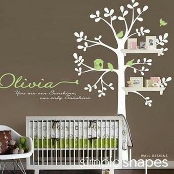 Chambre de bébé : 10 idées déco!!! | Enfant bébé maman | Scoop.it