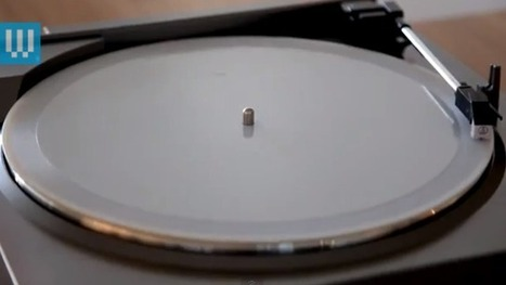 Everything Old Is New Again – 3D Printer Makes Vinyl Records Out Of MP3s | Just Tell Us about | Scoop.it