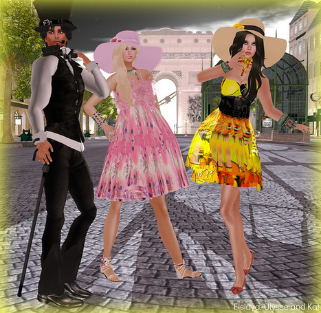 Freebies and cheapies in SL: We are a pair of twins...Nous sommes deux soeurs jumelles | Freebies and cheapies in second life. | Scoop.it