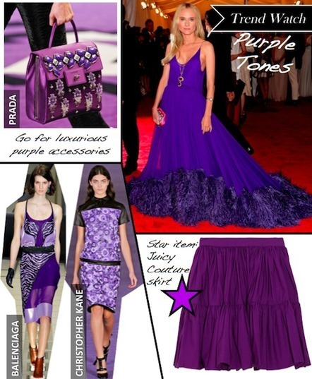 Fall 2012 Trend Watch: Purple is the Key Colour | Ultratress | Scoop.it