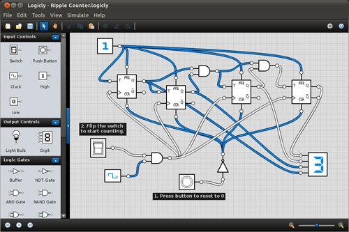 Logicly A Logic Circuit Simulator For Windows