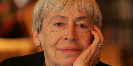 5 Stunning, Prophetic Quotes From Ursula K. Le Guin's National Book Award Speech | Google Lit Trips: Reading About Reading | Scoop.it