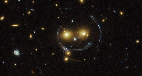 Picture This : Smiley face in space ! | The Blog's Revue by OlivierSC | Scoop.it