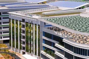 Greenroofs.com Projects - Institute of Technical Education HQ & College Central, Singapore   Sustainable Urban Agriculture   Scoop.it