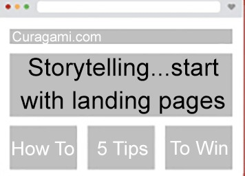 Storytelling - How To Work Backwards From Landing Pages via Curagami | Design Revolution | Scoop.it