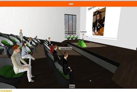 Apprendre et enseigner dans les mondes virtuels | E-pedagogie, apprentissages en numérique | Scoop.it