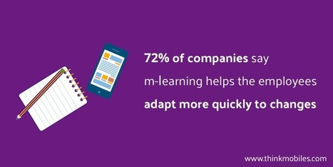 M-learning Applications: Changing the Face of Corporate Training - Thinkmobiles | Mobile Learning in Higher Education | Scoop.it