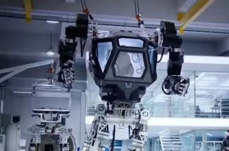 METHOD-1 is a giant robot mech that's a cross between Alien's Power Loader and the Iron Giant | Science And Wonder | Scoop.it