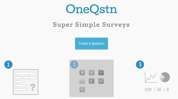 OneQstn. Créez un sondage le plus facilement du monde | TIC et TICE mais... en français | Scoop.it