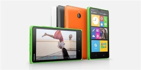 Microsoft annonce l'arrêt de la gamme Nokia X sous AOSP | Smartphones&tablette infos | Scoop.it