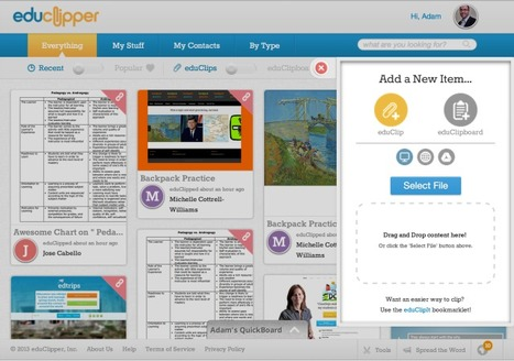 "Content Curation Tool: eduClipper Launches Its ""Pinterest For Education"" 