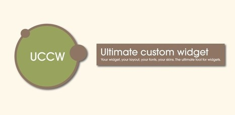 Ultimate custom widget (UCCW) - Android Apps on Google Play   Android Apps   Scoop.it