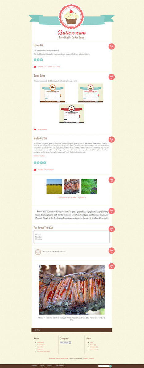 20 Thèmes Wordpress avec un design responsive - ressource ... | Agence Web Newnet | Actus CMS (Wordpress,Magento,...) | Scoop.it