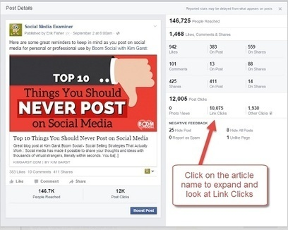 How to Use Facebook Insights to Improve Your Engagement : Social Media Examiner | Great Social Media Articles | Scoop.it
