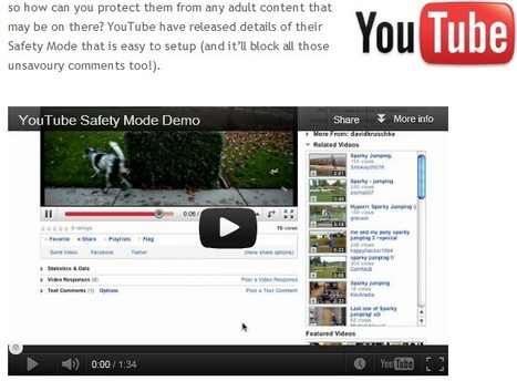 YouTube Safety Mode Demo | Be  e-Safe | Scoop.it