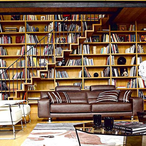 20 Bookshelf Decorating Ideas | Designing Interiors | Scoop.it