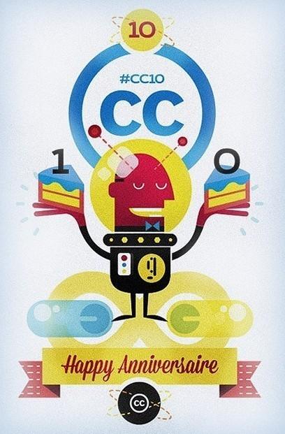 [Infographie]10 ans de Creative Commons | Web 2.0 et Droit | Scoop.it