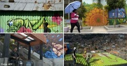 Mientras en Bogotá los borran, en Medellín son arte - KienyKe | Arte que transforma | Scoop.it