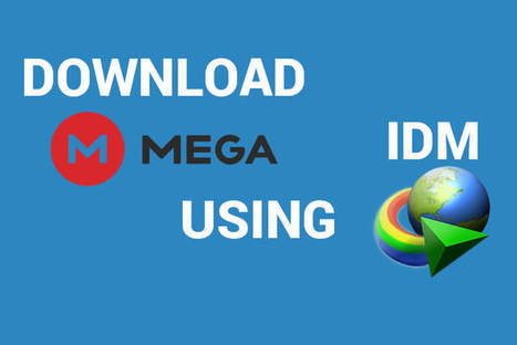 how to download mega files using idm directly w